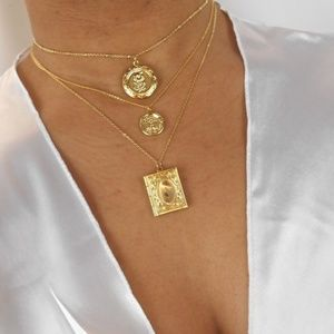 🆕️ Flower Locket Necklace